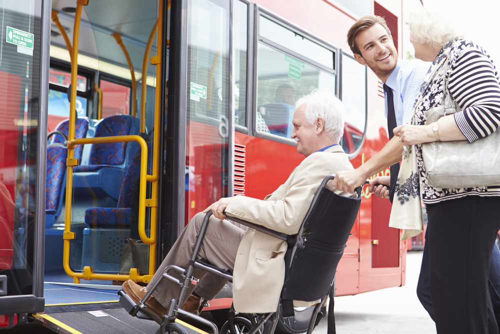 Paratranist transportation for seniors