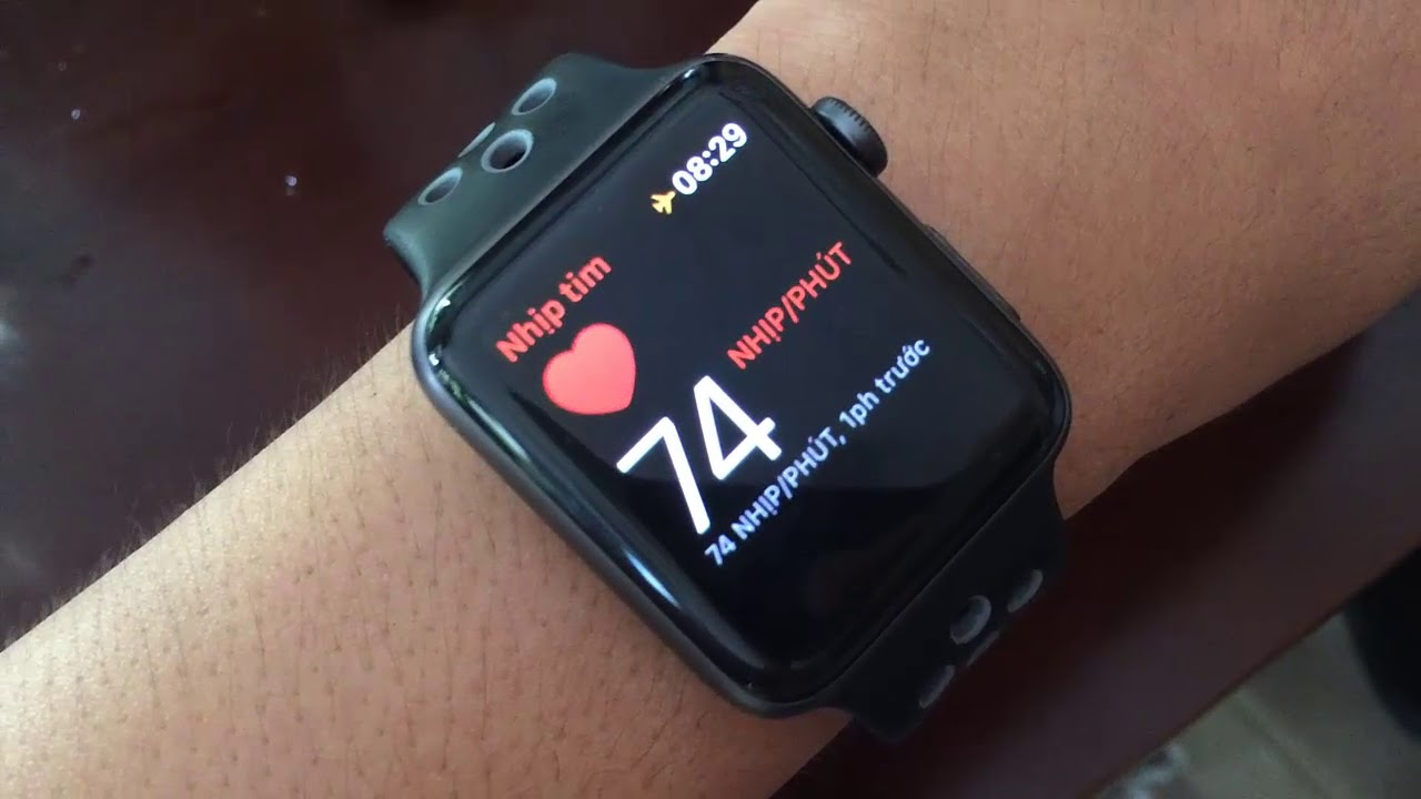 Hướng dẫn cách sử dụng nhịp tim trên apple watch