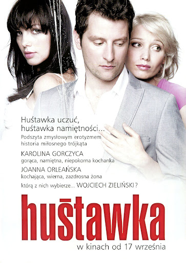 Tył ulotki filmu 'Huśtawka'