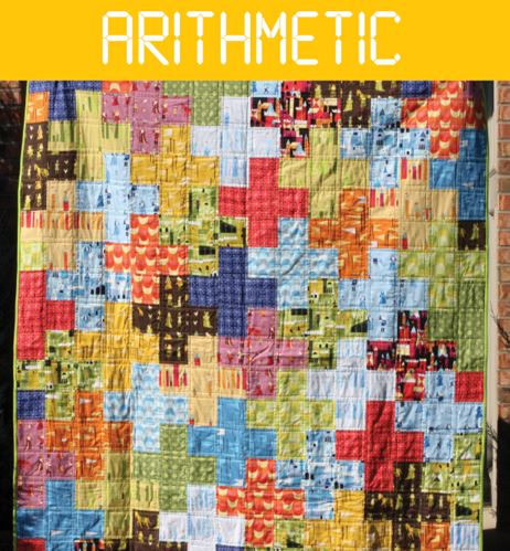 Multi-colored and Patterend Cross-Patterned Quilt