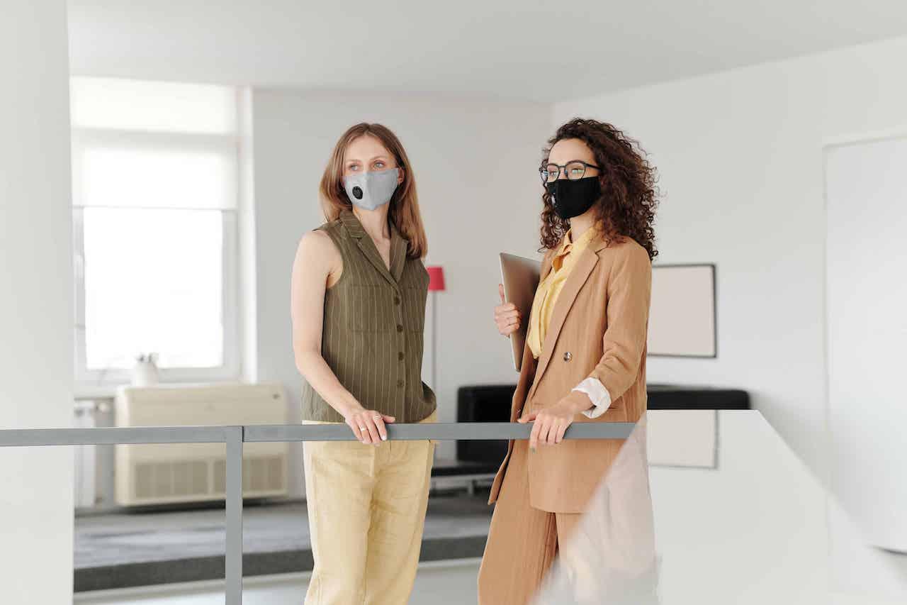 Business Women Facing Covid-19 Implications