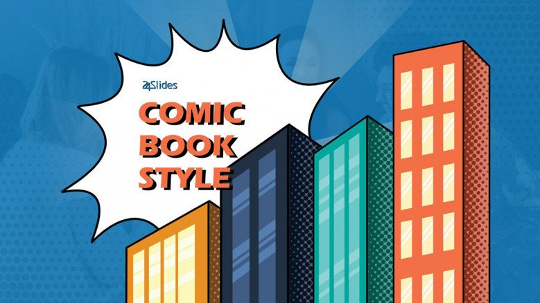comic book design powerpoint template