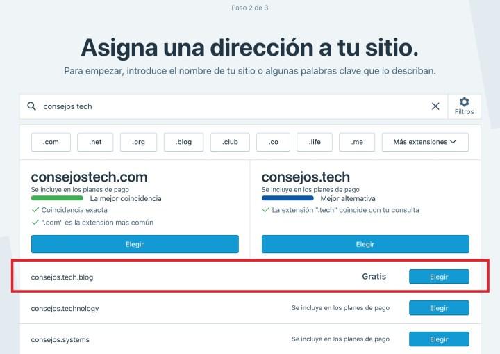 WordPress.com ofrece subdominios .blog gratis 1