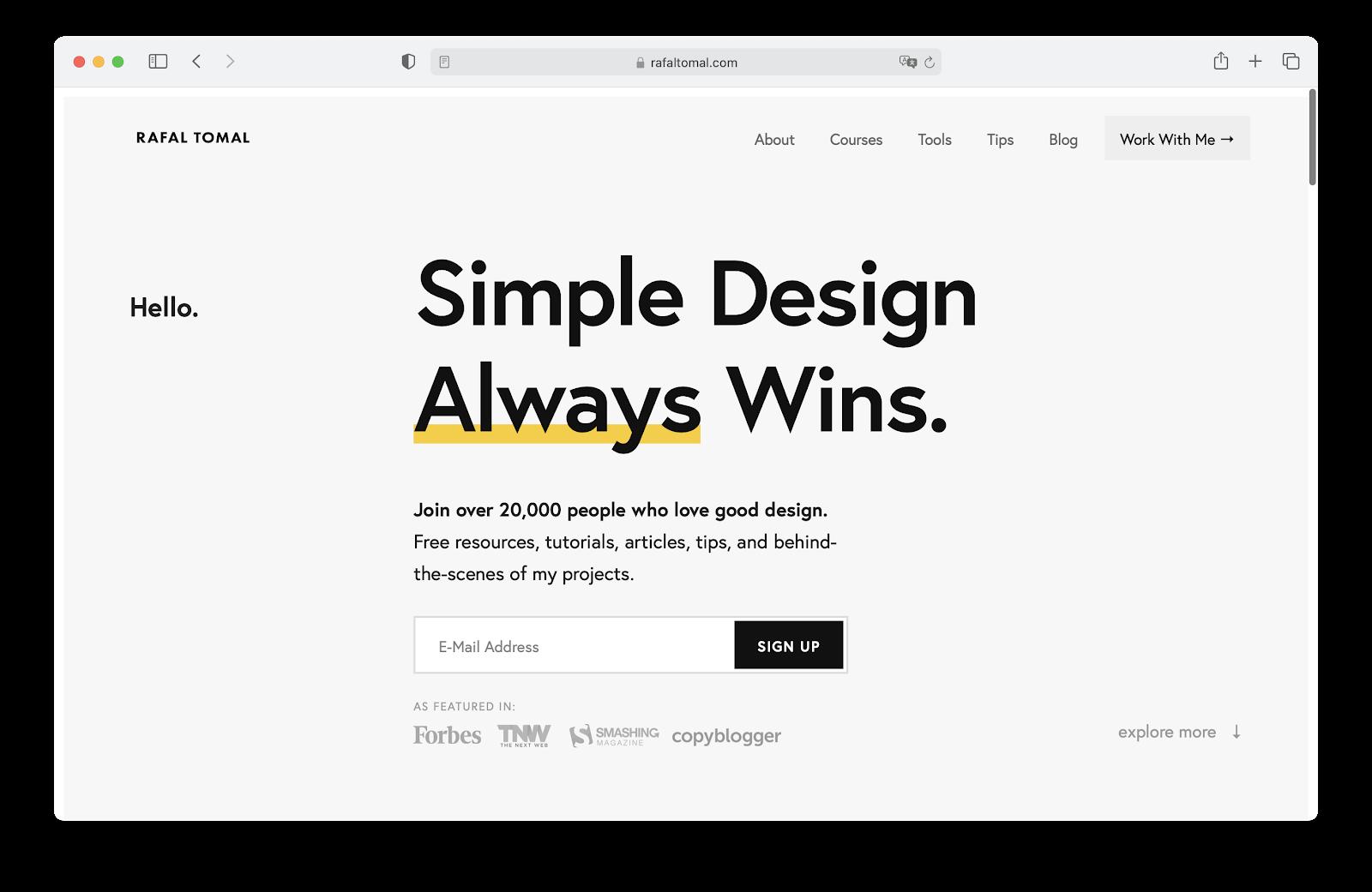 Бесплатный курс «Веб-дизайн и создание сайтов с нуля»