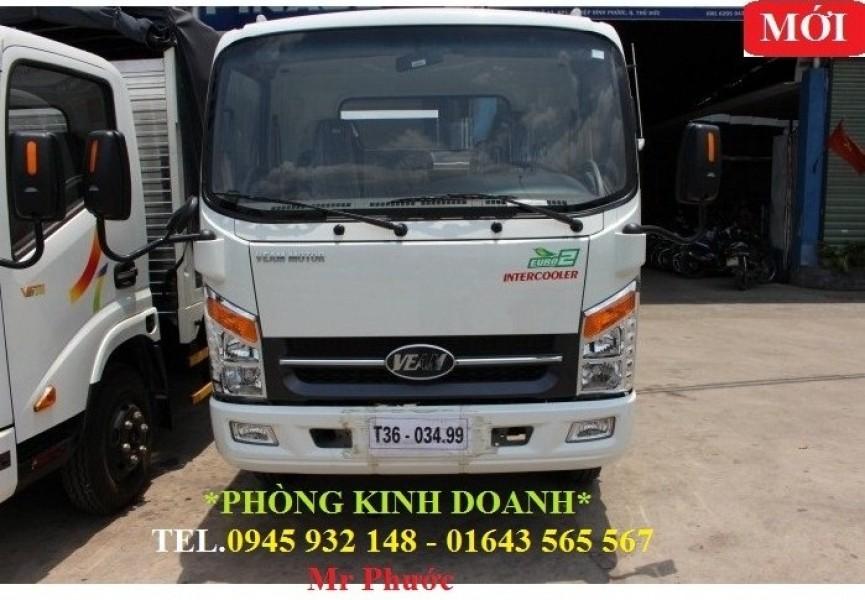 xe tải VEAM VT350 3.5 tấn, xe VEAM 3.5T thùng kín 2016, mua xe VEAM VT350 tặng trước bạ 100%
