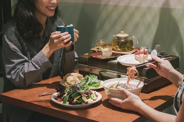 台北蔬食餐廳-貳房苑-蔬食套餐