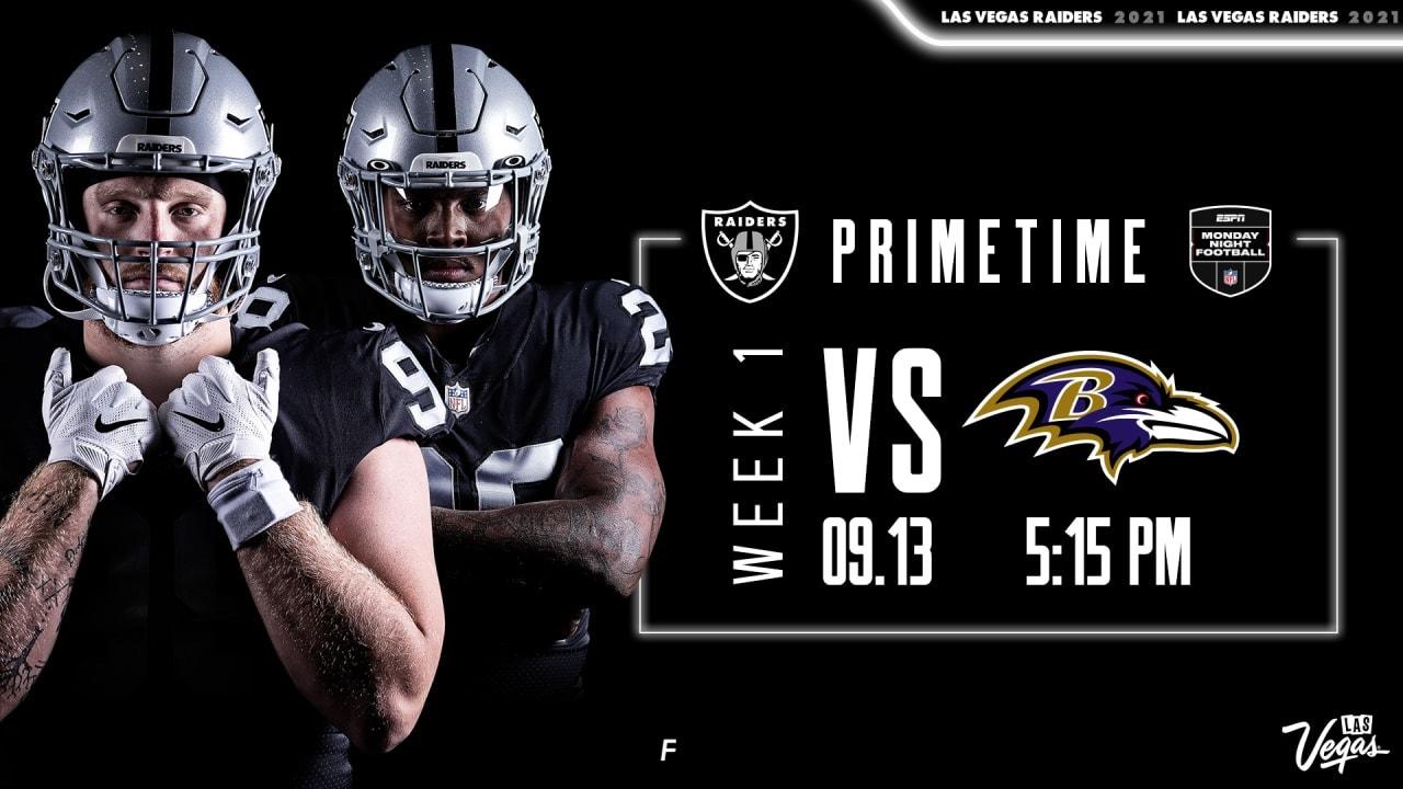 Ravens vs Raiders live stream: How to watch Monday Night Football online