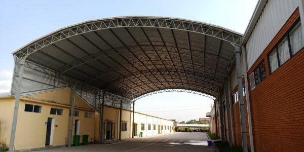 cách làm mái tôn vòm