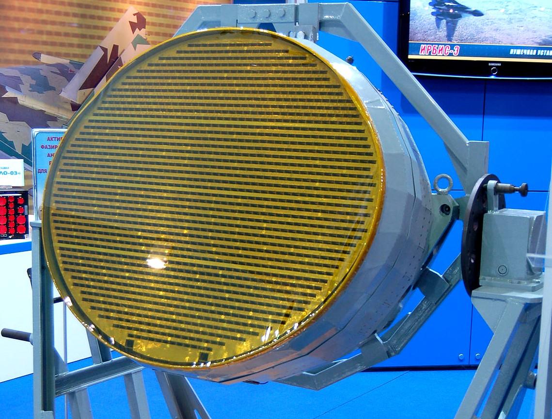 NIIP N036-1-01 X-band AESA radar.jpg
