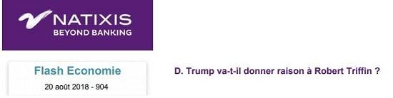 Natixis - Trump - Robert Triffin