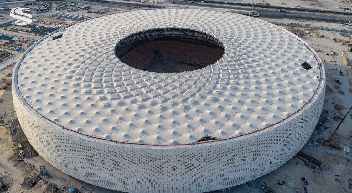 Diện mạo của sân vận động Al- Thummama được lấy cảm hứng từ Gahfiya truyền thống