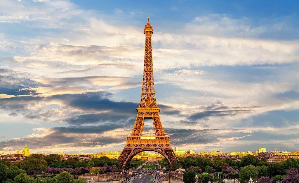 Paris as a best destinations for honeymoon