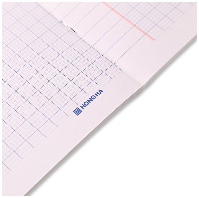Mẫu giấy vở 4 ô ly (2*2)mm Class Ami 96 trang