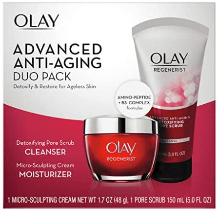 OLAY skincare set advanced anti-aging regenerist