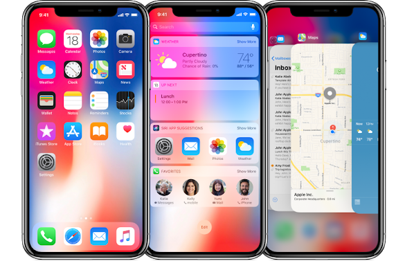 Designing for iPhone X: redesigning