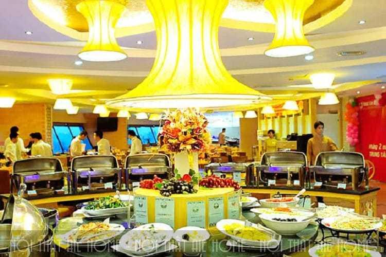 Thiết kế nhà hàng Ngọc Mai Vàng
