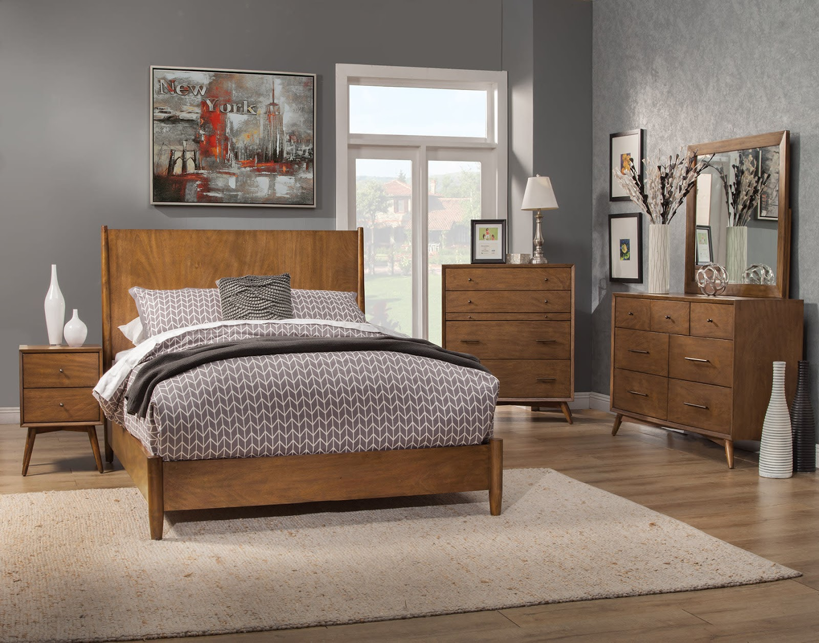 Perfect Modern Mid Century Bedroom