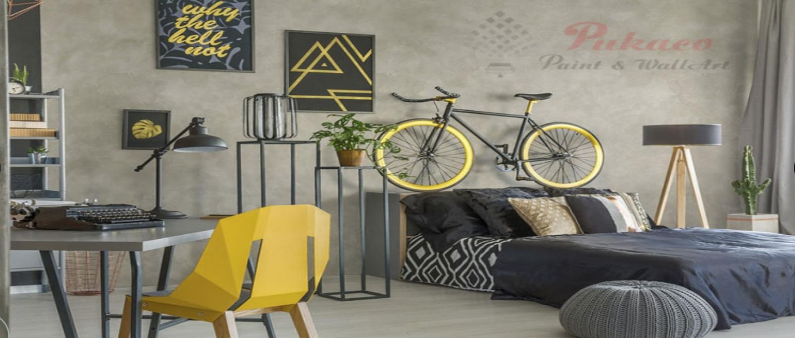 Sơn giả bê tông – màu sắc đơn giản, thu hút ánh nhìn nhất