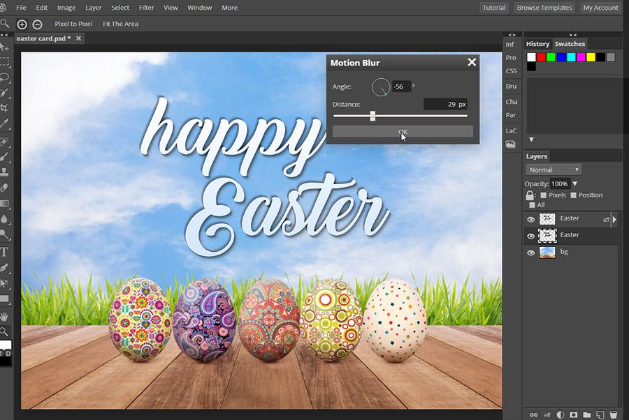 Design Your Own Easter Card! - Pixlr Blog