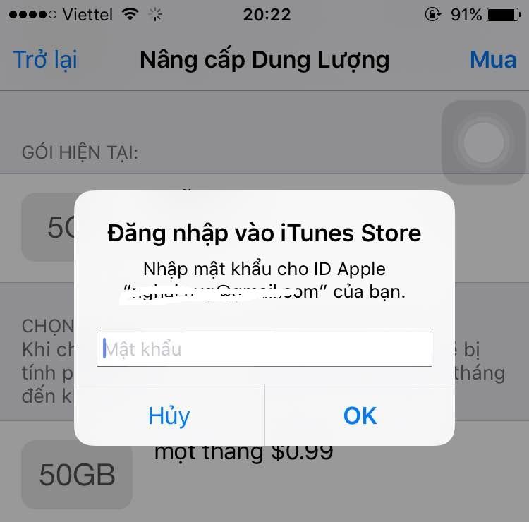 Mua iCloud như thế nào? Khi nào cần mua iCloud? Nên mua iCloud mức bao nhiêu? hình 8