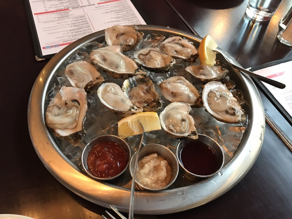 Photo of AOA Bar & Grill - New York, NY, United States. $1 oysters