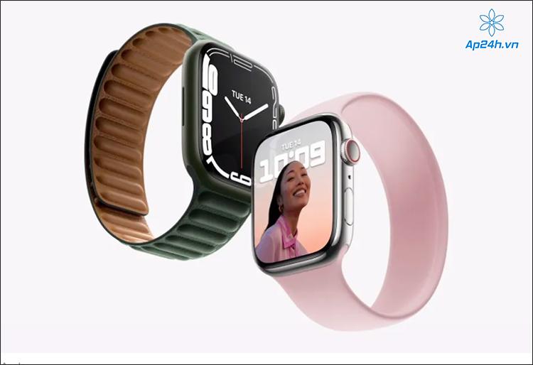 Apple Watch Series 7 trình làng với màn hình lớn hơn, các cạnh cong đẹp mắt