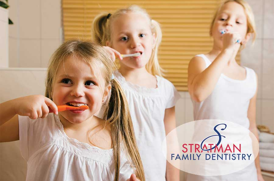 Teaching your child to brush their teeth