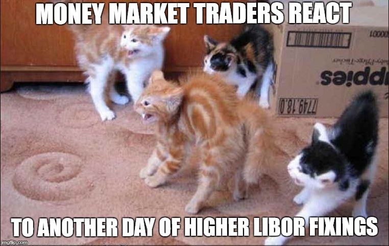 Why is LIBOR Moving Higher?