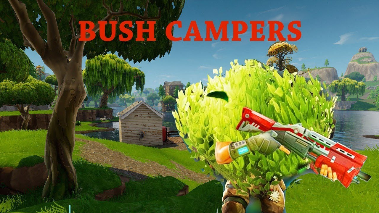 Image result for fortnite bush camper