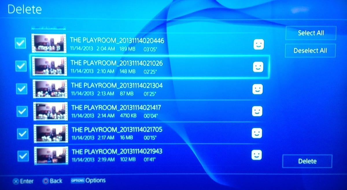 free up space on ps4