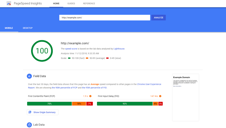 Best Marketing Tools 2020 - Google PageSpeed Insights