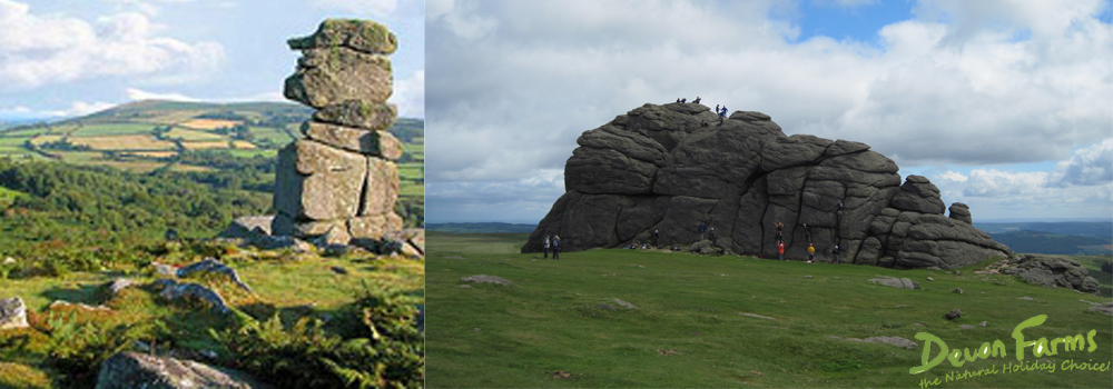 Enjoy the wonderful walks on Dartmoor while on holiday in Devon.