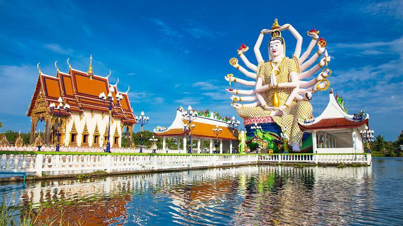 Image result for Wat Plai Laem
