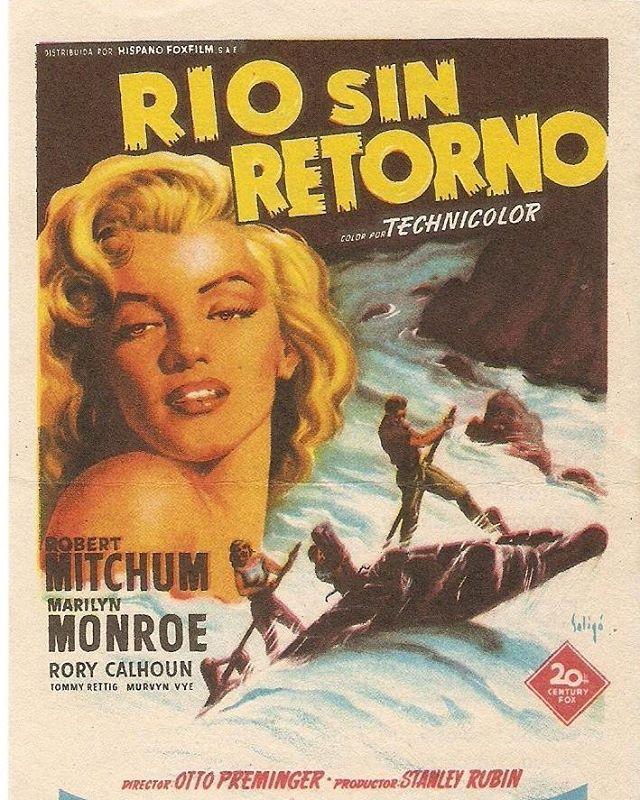 Rio sin retorno (1954, Otto Preminger)