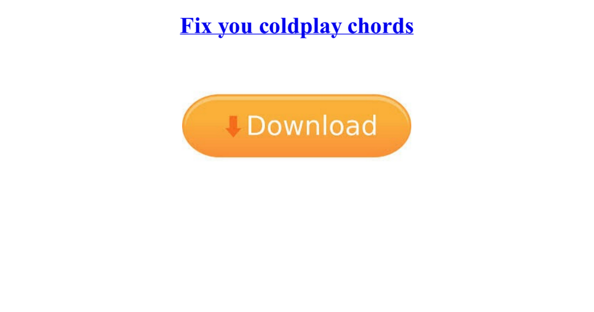 Fix You Chords image gallery