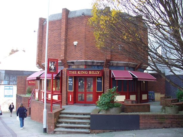 The King Billy pub in Exeter closed in July 2018