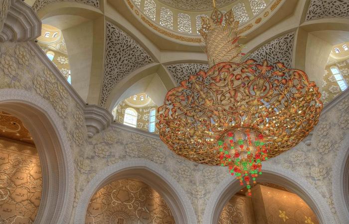 Sheikh Zayed - Thánh đường trắng tuyệt đẹp ở Abu Dhabi - Ảnh 8.