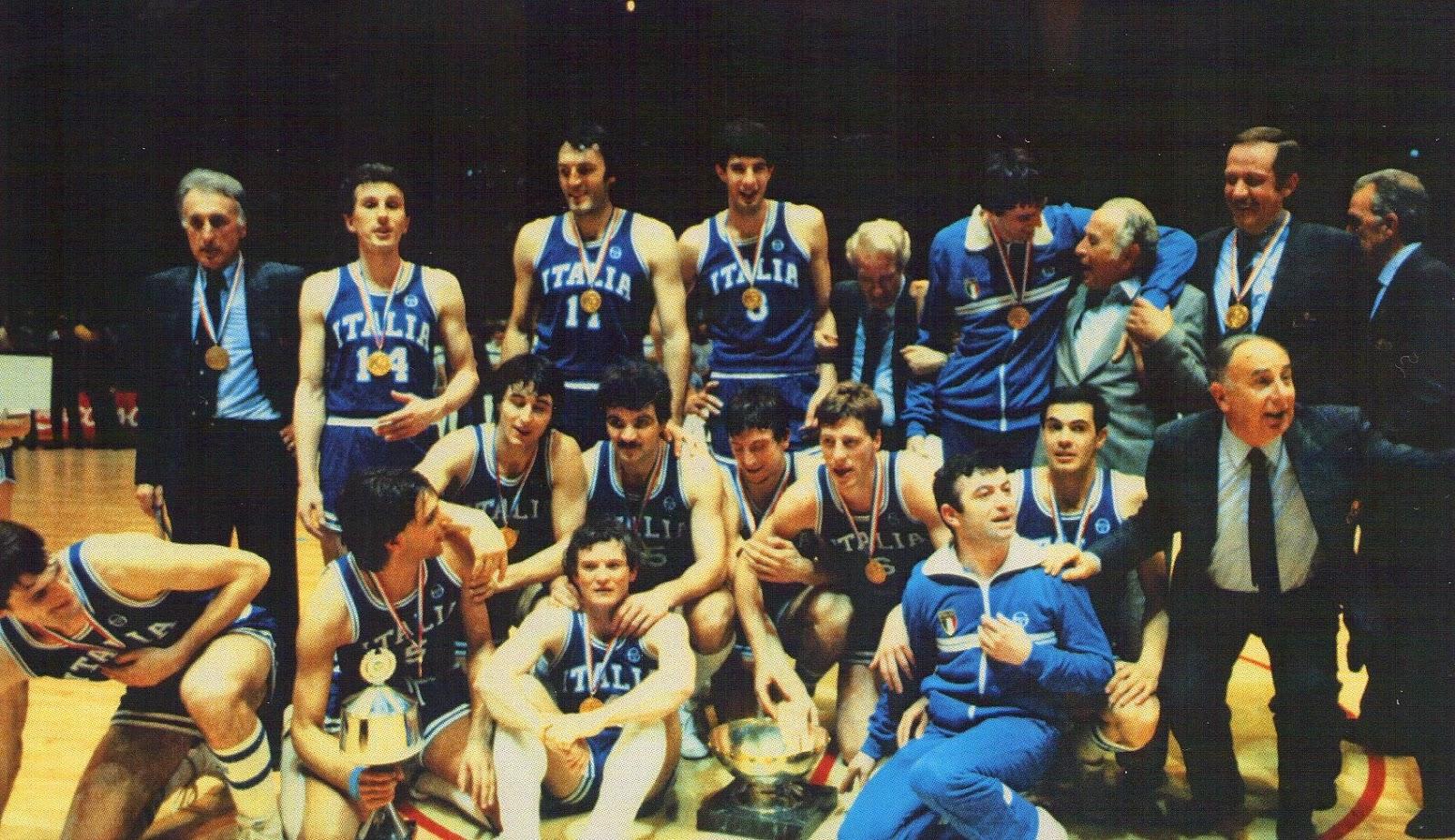 Italy 1983 Eurobasket