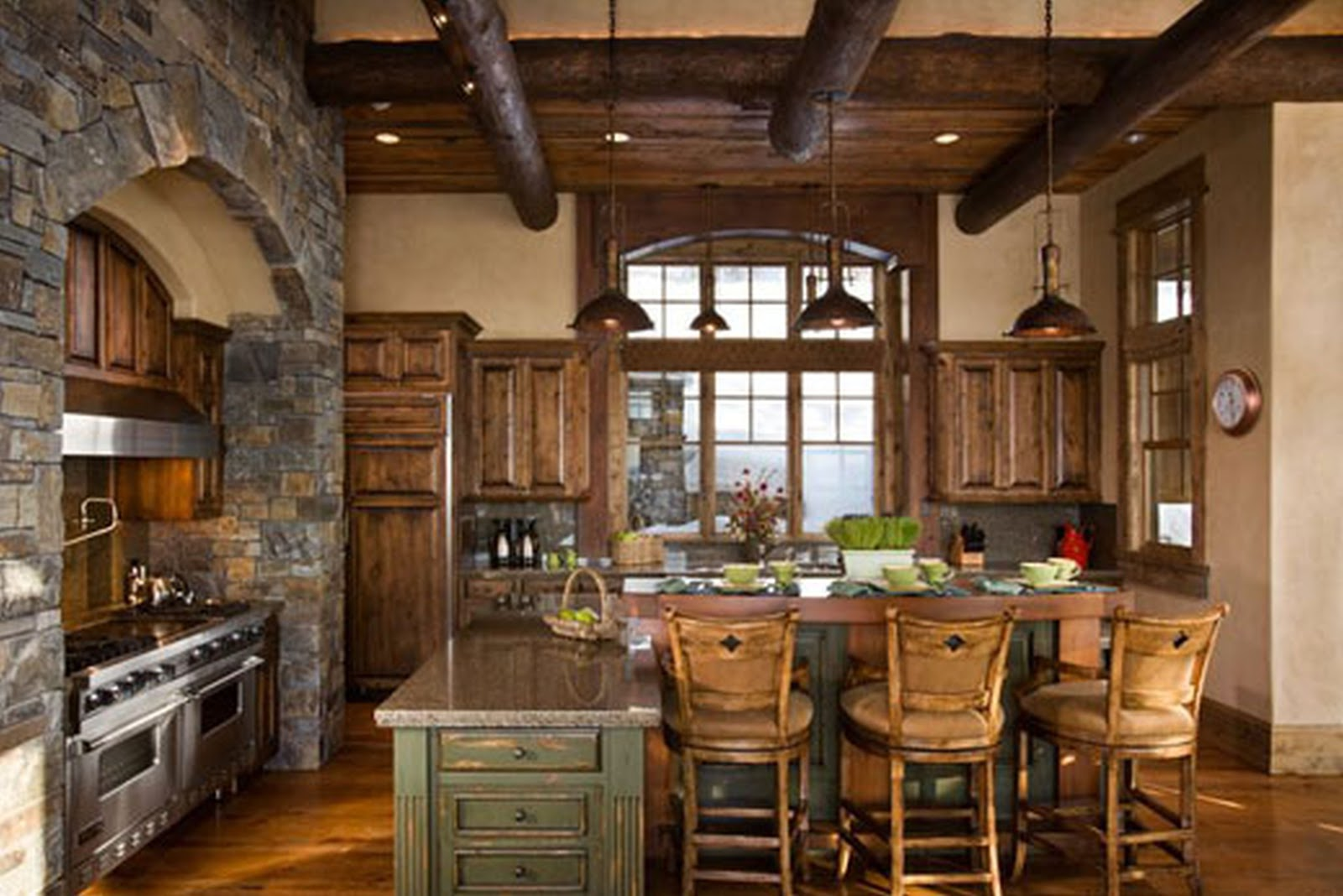 decoration-rustic-ceiling-beams-wooden-flooring-natural-stone-wall-decor-kitchen-island-plus-wood-modern-contemporary-decozt-photo-gallery-of-home-interior-design-kitchen-island-decor-with-lighting-styli.jpg