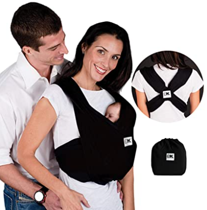 Baby K'tan wrap, #4 best carrier for back support