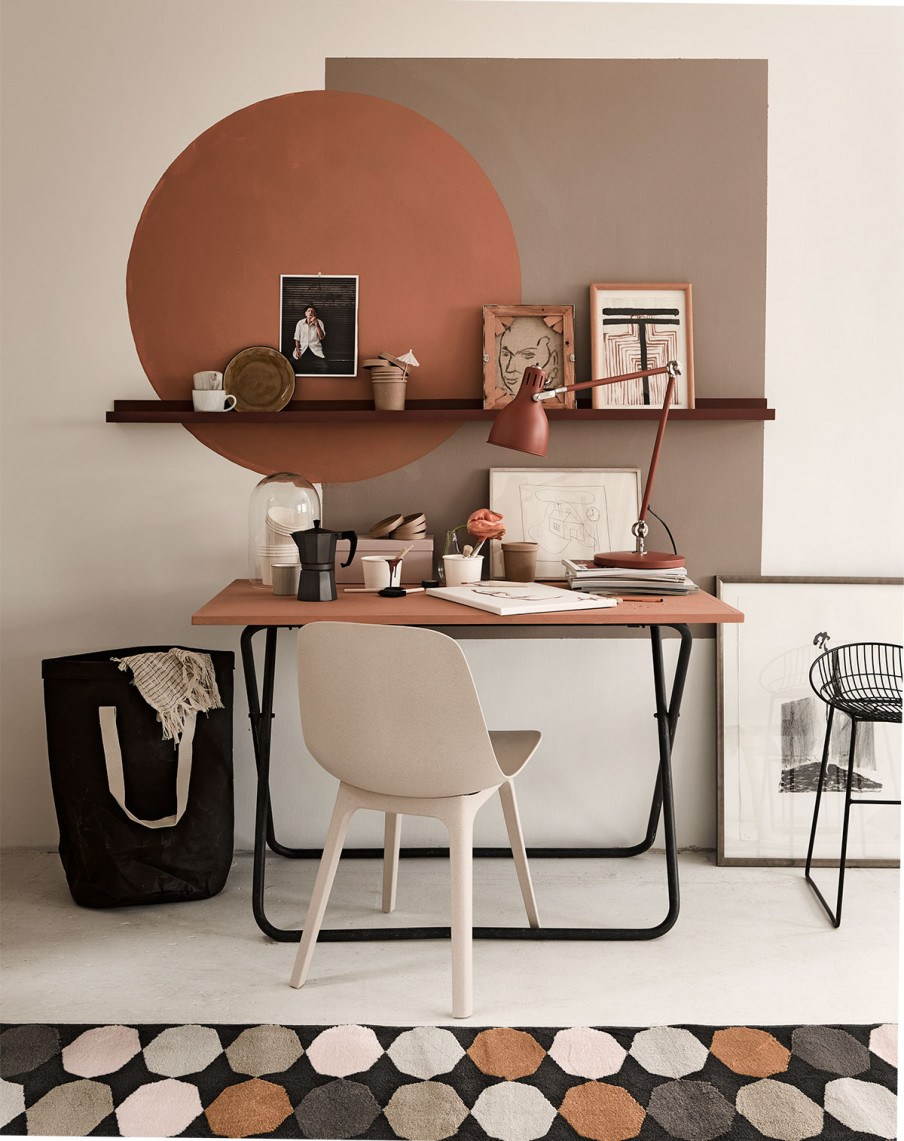 Home decor color trends 2020: Brown