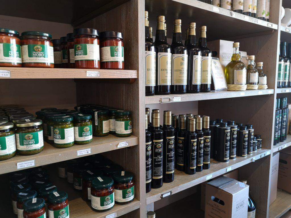 van olijf tot olijfolie... of hazelnootpasta!