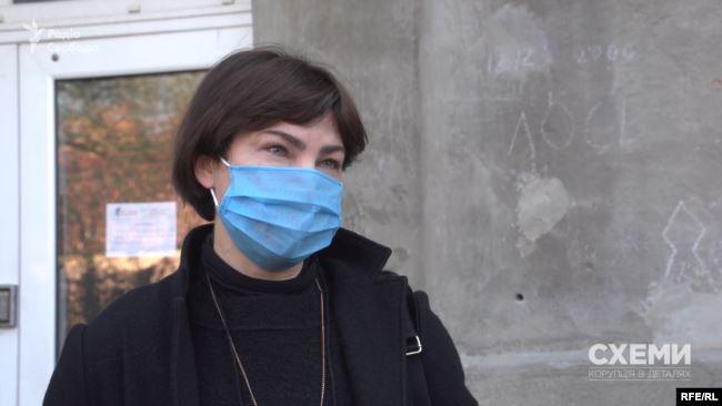 Спершу Венедіктова не захотіла відповідати за запитання про київську оселю й порадила журналістам звернутися із запитом