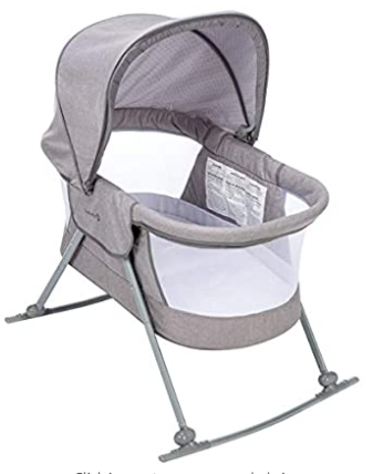 Safety 1st Nap and Go Rocking Bassinet, the second-best rocking bassinet available