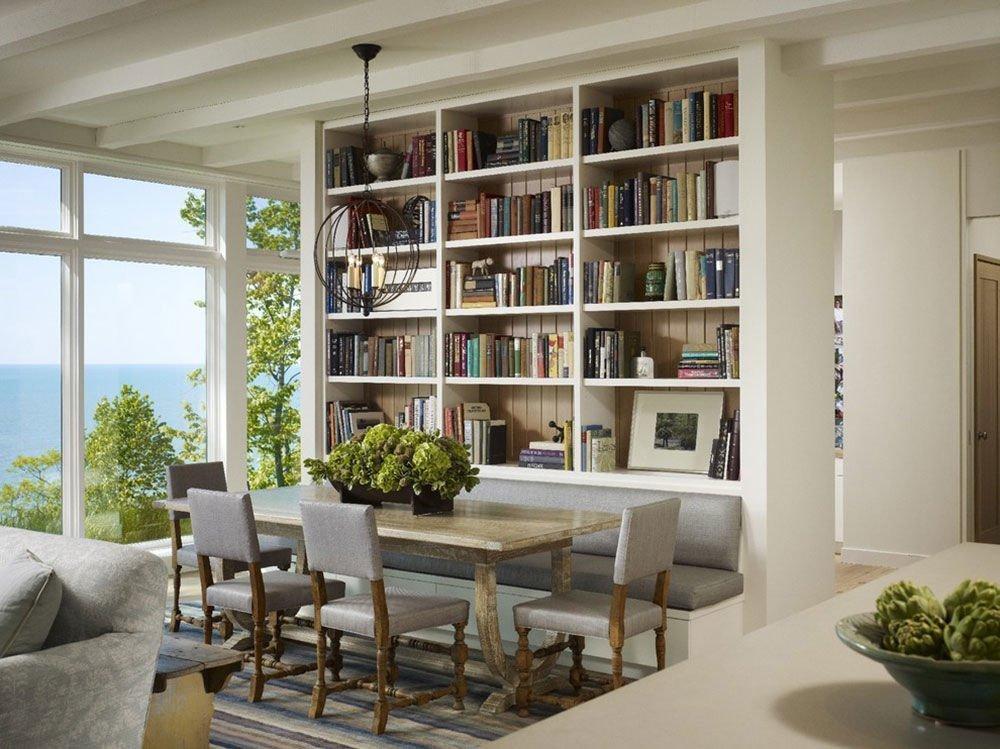 Thiết kế phòng đọc sách phong cách hiện đại