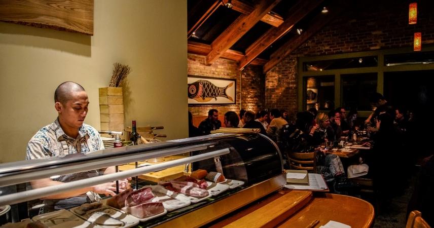 Arami sushi restaurant in Chicago