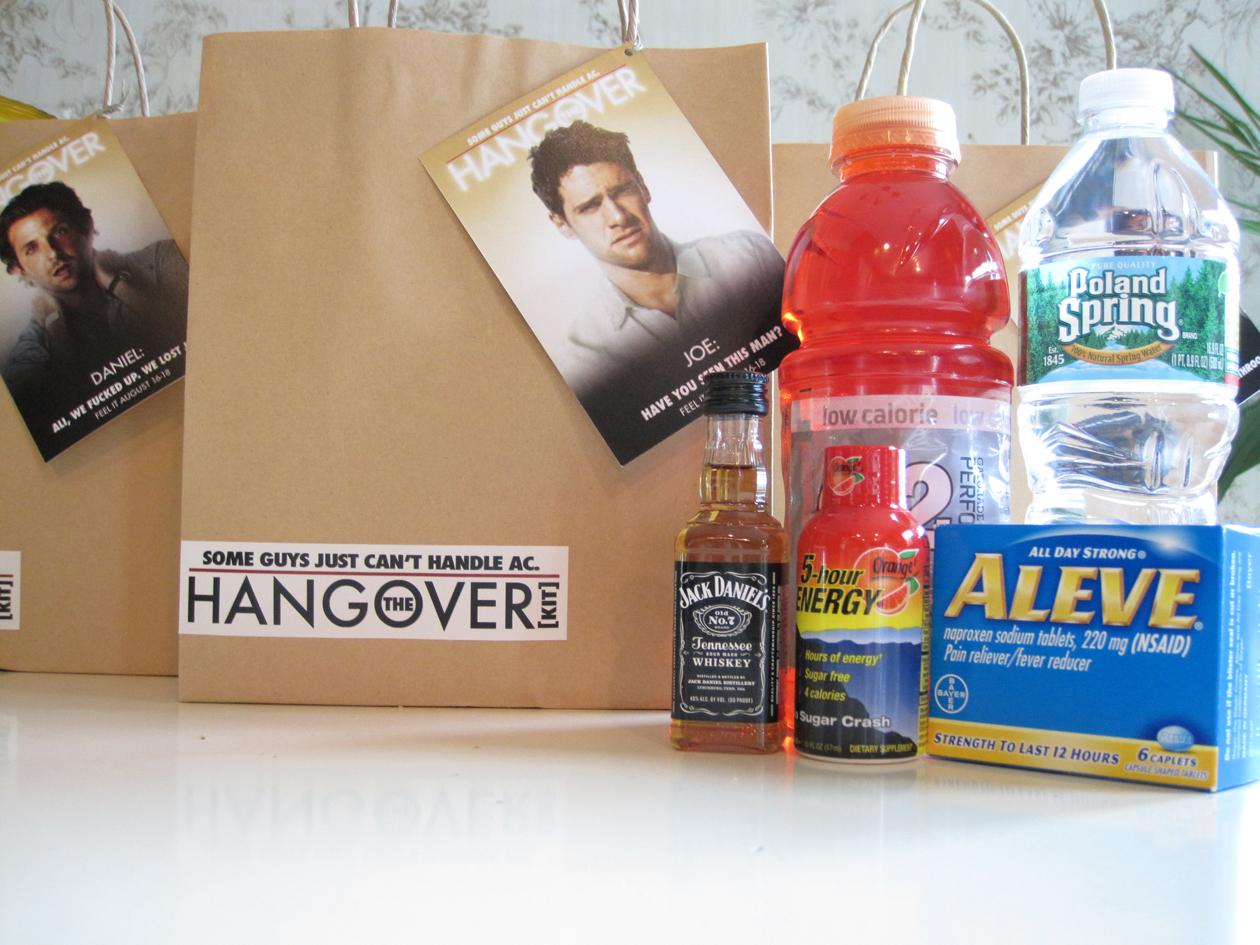Hangover Kit Bucks Weekend