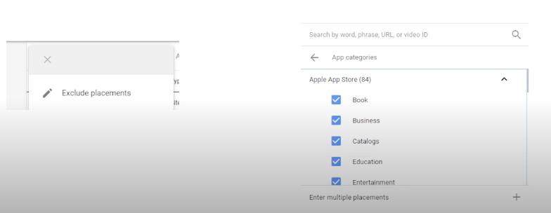 Отключить мобильные приложения в Google