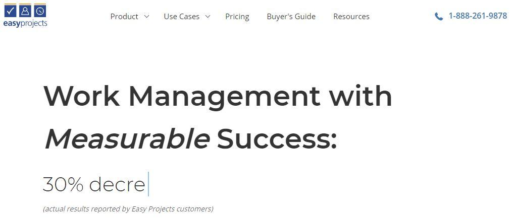 Easyprojects work management