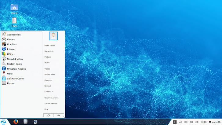 Zorin OS 7 UI
